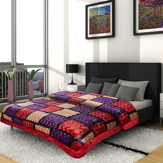 Titos Multicoloured Bordered printed Quilt