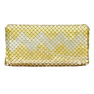 KZODIA Golden Fabric Clutch