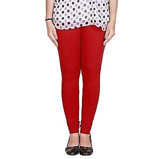 Fashion Women's Cotton Leggings Red