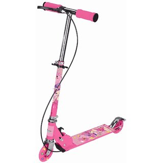 3 Wheels Kids Scooter Foldable Assorted Colors available at ShopClues for Rs.651