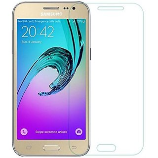 Flirky Tempered Glass Guard for Samsung Galaxy J2 2016
