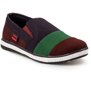 Golden Sparrow Mens Multi Slip on Casual Shoes