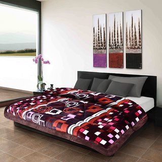 Titos Multicolor Classic Print Polyester Quilt