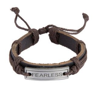 Diva Walk brown leather bracelet-00957