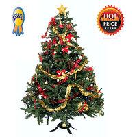 Sunshine 14 Inch Christmas Tree, X-MAS Tree Decoration + FREE CHRISTMAS DECORATION