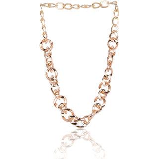 Diva Walk gold alloy necklace-00947