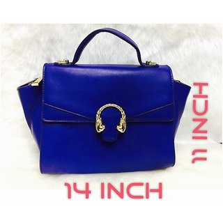 Women's Tote Bag Handbag (Blue)