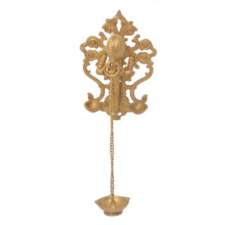 Oil Lamp Multi Purpose Handicraft Decorative Pooja Article Wall hanging Exclusively by Bharat Haat BH05702