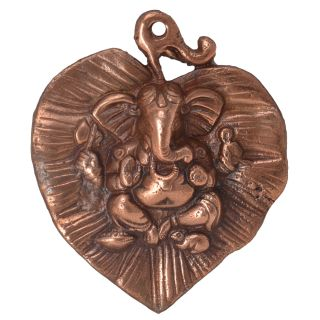 Ganesha Paan Small Decorative Multi Purpose Show piece by Bharat Haat BH05756