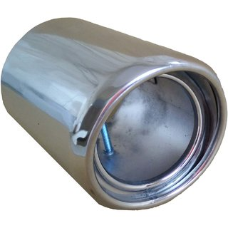 AutoPop Stainless Steel Exhaust Muffler Silencer Cover for Nissan Micra