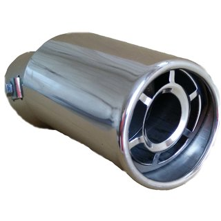 AutoPop Stainless Steel Exhaust Muffler Silencer Cover for Maruti Suzuki Wagon R