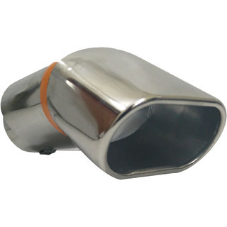 AutoPop Stainless Steel Exhaust Muffler Silencer Cover for Hyundai Creta