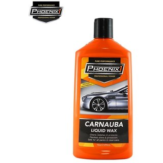 Phoenix1 Professional Power Car Bike Carnauba Liquid Wax  295ml