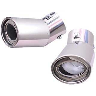 AutoPop Stainless Steel Exhaust Muffler Silencer Cover for Hyundai Xcent