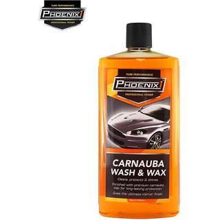 Phoenix1 Professional Power Car Bike Carnauba Wash & Wax  590ml