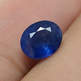 MARKA GEMS 5.25 Ratti blue Sapphire neelam