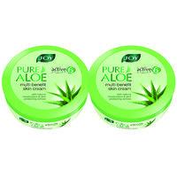 Joy Pure Aloe Multi-benefit Skin Cream 1000 ml (Pack of 2 X 500 ml)