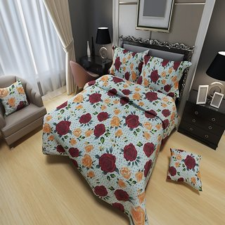 Living-Xxl Bedsheet 108x120 inch by Fabrious