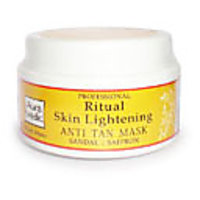 Skin Lightening Mask With Sandalwood, Turmeric And Saffron@GG