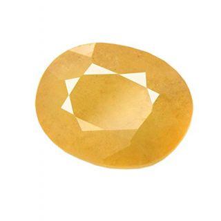 Om gyatri 7.25 Ratti Peela Pukhraj Natural Yellow Sapphire Certified
