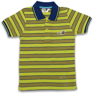 Colour Kids Boys Cotton Multi Colour  T-Shirts Pack