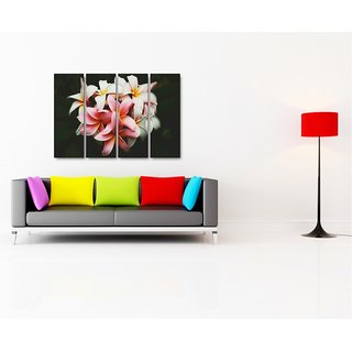 Esfore Contemporary  Stylish Printed Artwork/Painting - Beautiful Flowers (With Stretched Print)
