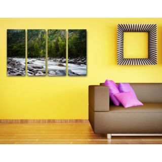 Esfore Contemporary  Stylish Printed Artwork/Painting - Stunning River (With Stretched Print)