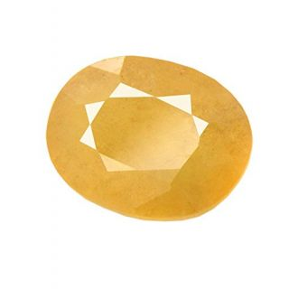 Om gyatri 3.25 Ratti Peela Pukhraj Natural Yellow Sapphire Certified