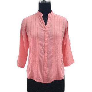 Peach Plain Top