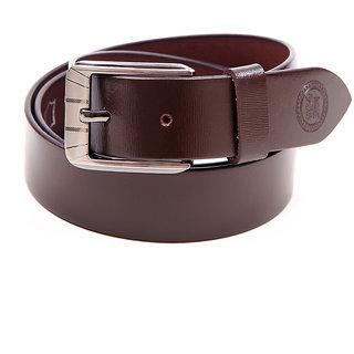 Harex Brown Leather Formal Belts