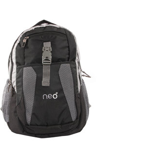 Neo Clipper Black Backpack