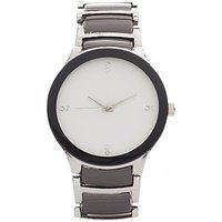 Iik Collection White Dial Analog Watch - For Men, Boys