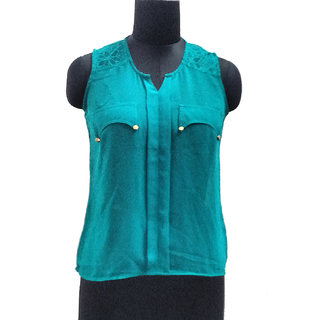 Green Plain Top
