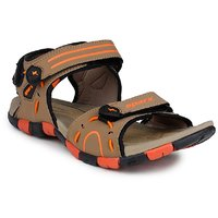 Sparx Tan Floater Sandals