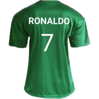 Realmardri green color cr7 football Jersey