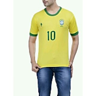 Brazil yellow color Jersey ( 38 inches )
