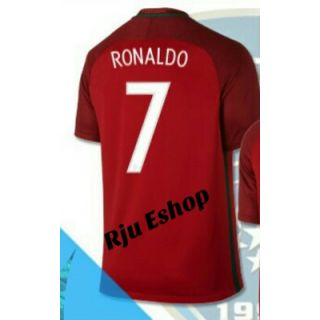 Red Portugal cr7 football Jersey for men