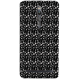 ifasho Modern Art Design animated cloth Pattern of small star Back Case Cover for Asus Zenfone2