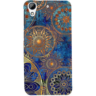 ifasho modern design in multi color aztec pattern Back Case Cover for HTC Desire 626