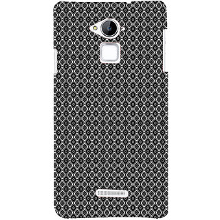 ifasho Animated Pattern design black and white flower in royal style Back Case Cover for Coolpad Note 3