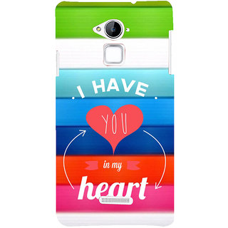 ifasho I have you in my heart Back Case Cover for Coolpad Note 3