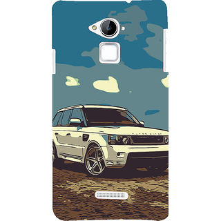 ifasho Vintage white Car Back Case Cover for Coolpad Note 3