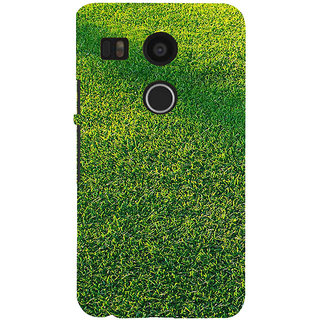 ifasho Animated Pattern grass Back Case Cover for Google Nexus 5X