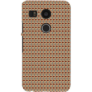 ifasho Animated Pattern design many small flowers  Back Case Cover for Google Nexus 5X