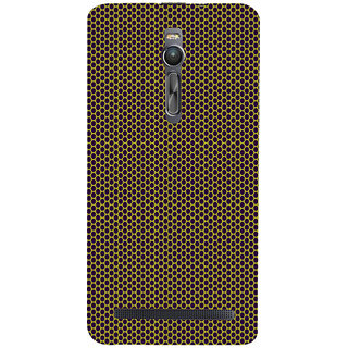ifasho Modern Art Design Pattern honey Bee case style Back Case Cover for Asus Zenfone2