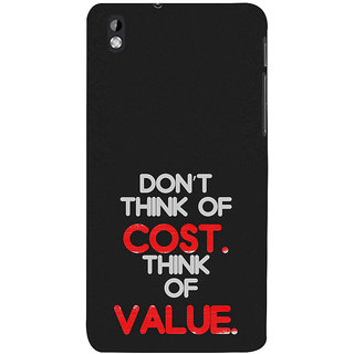 ifasho life Quotes Back Case Cover for HTC Desire 816