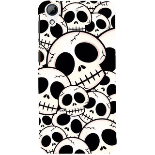 ifasho Modern  Design skeleton Pattern Back Case Cover for HTC Desire 626