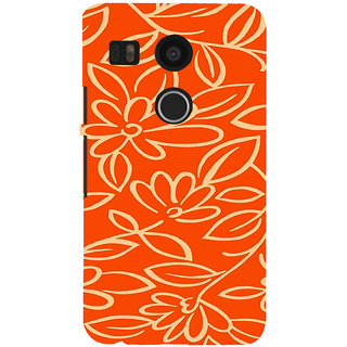 ifasho Animated Pattern colrful 3Daditional design cloth pattern Back Case Cover for Google Nexus 5X