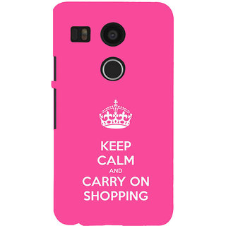 ifasho Nice Quote On Keep Calm Back Case Cover for Google Nexus 5X