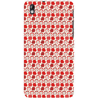 ifasho Animated Pattern design many small apple Back Case Cover for HTC Desire 816